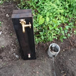 給水管敷設~空き家リノベーション#1【ガーデン作り】