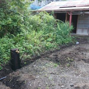給水管敷設~空き家リノベーション#2【ガーデン作り】
