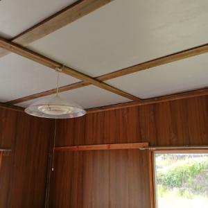 天井素材選びで仕上げ合格点~空き家リノベーション#44【母屋中】
