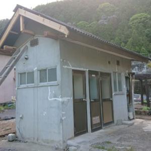 小屋の外壁はモルタル仕上げ~空き家リノベーション#48【サニタリー棟】