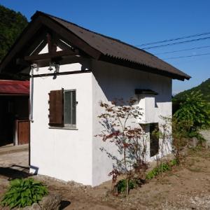 小屋の外壁塗装~空き家リノベーション#51【サニタリー棟】