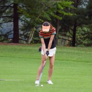 ゴルフ練習場に行く準備