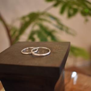 結婚指輪見学にやってきました