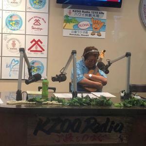 ハワイのアラモアナセンターのラジオ局で高木ブーさんを発見!移住してるのかな?