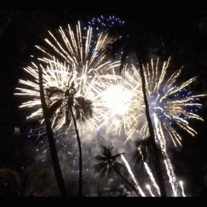 【毎週金曜日】ヒルトンの花火をヒルトンビーチから鑑賞してきました!