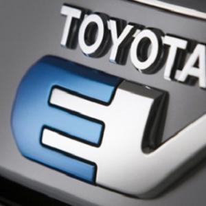 ● トヨタ、 BYDと中国市場向けEV研究開発会社を2020年に新規開設予定