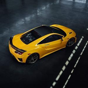 ● 2020年モデルのホンダ「NSX」、初代イメージの新色「インディイエロー・パールII」を追加