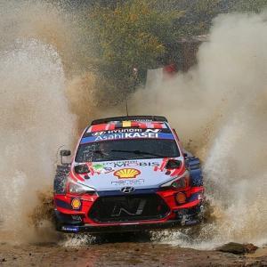 """● WRC:第3戦メキシコで2台にトラブル出た""""ヒュンダイ""""「プロチームとしてあってはならない」"""