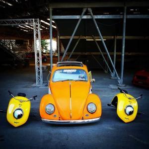 ● VWビートルのフェンダーがミニバイク「Volkspod(フォルクスポッド)」に変身!