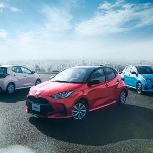 ● 新車登録ランキング、『ヤリス』が初のトップ 4月車名別ランキング公開