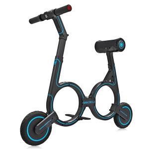 ● 折りたたんで持ち運べる電動バイク「smacircle S1」登場!ナンバー取得で公道走行可能