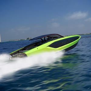 ● ランボルギーニのモーターヨット「Tecnomar for Lamborghini 63」公開