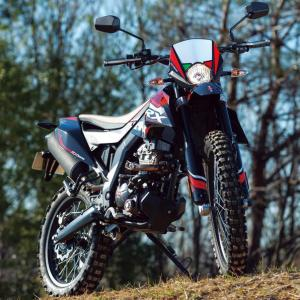 ● アプリリア「RX125」 原付二種で本格的なオフロード走行を楽しめる希少なバイク