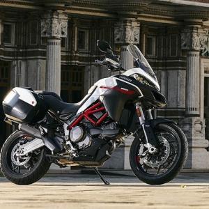 ● ドゥカティ「ムルティストラーダ950 S」、マルチな高性能モデルに『GP White』カラー