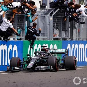 ● F1ハンガリーGP決勝:ハミルトンが完勝!フェルスタッペンはレース前クラッシュから奇跡の2位