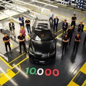 ● 発表から2年で史上最速SUV「ランボルギーニ・ウルス」が累計生産台数が1万台を達成!