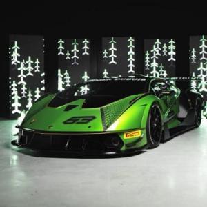 ● ランボルギーニ 「エッセンサ SCV12」を発表! 830馬力ハイパーカーはサーキット専用