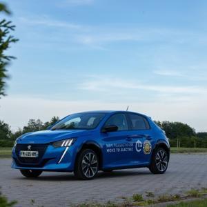 ● 新型プジョー「e-208」が、リトアニアの電気自動車レースで優勝…無充電で305kmを走破