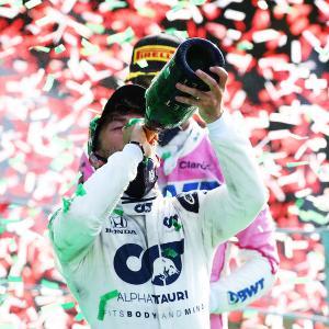 ● ホンダ八郷社長がガスリーのF1初優勝にコメント、「我々を大きく勇気づける快挙」