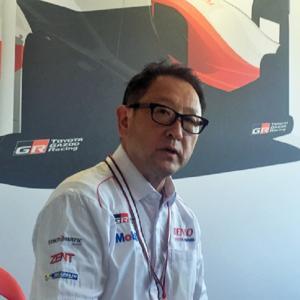 ● ル・マン24H優勝:豊田社長「まだまだドライバーの気持ちに応えるクルマづくりが出来ていない」