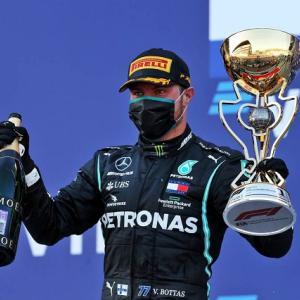 ● 【速報】F1 ロシアGP 決勝、ボッタスが今季2勝目! レッドブルのフェルスタッペンは2位