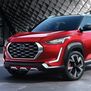 ● 日産、新型小型SUV『マグナイト』発表…2021年初頭にインドで発売、他地域に展開も
