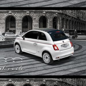 ● フィアット 500/500C ドルチェヴィータ、『甘い生活』をイメージした特別限定車を発売!