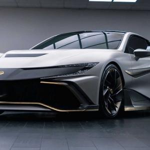 ● 「ナラン」新型スーパーカー世界初公開、ルックスは英国のNSX、0-100km/h加速2.3秒