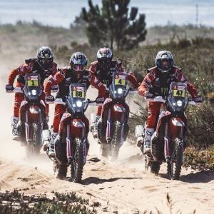 ● ダカールラリー/バイク ホンダ3度目のステージ1位2位を獲得! ケビン・ベナバイズ選手が総合