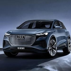 ● アウディの新型EV『Q4』、SUVクーペモデル「スポーツバック」とともに2021年発売へ