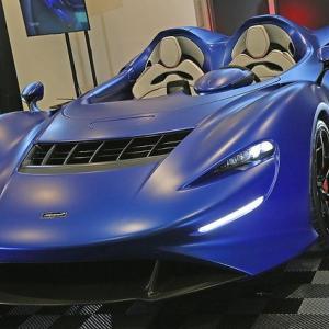 """● 「マクラーレン エルバ」""""世界限定149台""""オープンコックピット・ロードスターをデリバリー"""