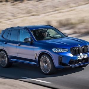 ● BMW X3 に改良新型に頂点「M」、510馬力ツインターボの「コンペティション」のみに