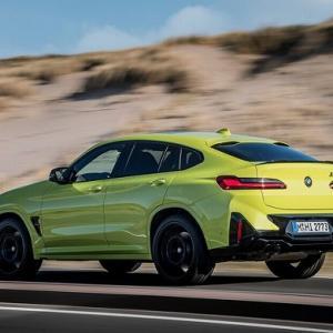 ● BMW X4 に改良新型に最強「M」、0-100km/h加速は3.8秒に短縮…欧州発表