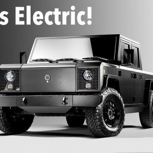 ● 無駄なもの省き、変化自在なボディを可能に!新興EVメーカー「ボリンジャーモーターズ」