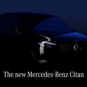 ● メルセデス・ベンツ 小型商用車の新型「シタン」を発表、フルモデルチェンジ
