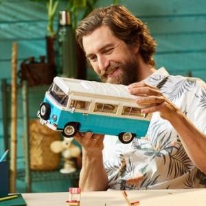 ● レゴ公式オンラインストアから「VWワーゲンバス」タイプ2バス・キャンピングカーが登場