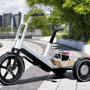 ● BMW、3輪電動アシスト自転車コンセプトと電動キックボードコンセプトを発表…多用途性を追求