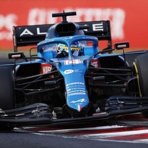 ● F1ハンガリーGP決勝:アルピーヌのオコンが大波乱のレースを制しF1初優勝! 角田は7位入賞