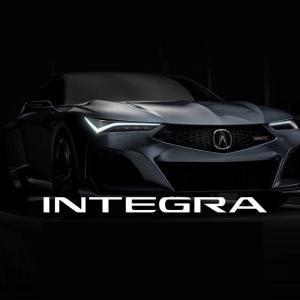 ● ホンダ アキュラ、新型インテグラには「6MT」の設定がされるようだ!