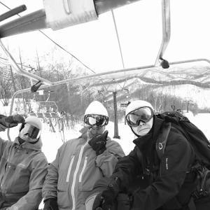 たまにゃ〜ほかのスキー場へ…初川場(*^_^*)