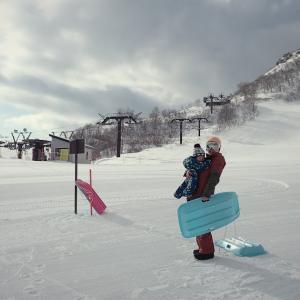 コータロー(*^^*)/ 初!天神平♡ 2020初滑りの巻