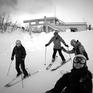 天神行きてぇ〜スノーボード楽しみてぇ〜!!