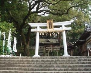 事任八幡宮にいきました(静岡県掛川市)