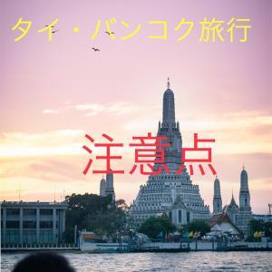 【タイ・バンコク旅行】旅行前に読んでおきたい。やってはいけない事と注意する事11選。