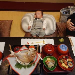 【美々卯 本店】で100日祝いとお食い初めをしてきました。