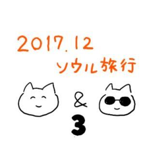2017.12ソウル▪️半年ぶりの再会は東大門チメクから