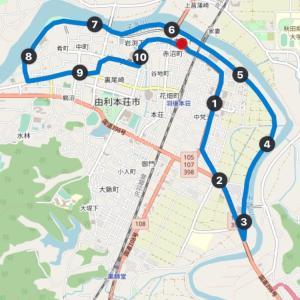 子吉川沿いのサイクリングコース