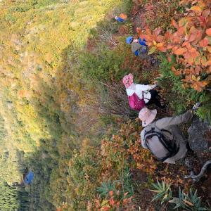 昨年の登山の一コマ『甑山』 自転車ネタではないです。