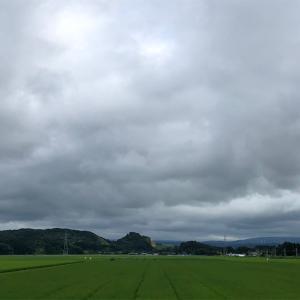 雨が降る前に一走り