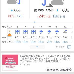 明日からの天気